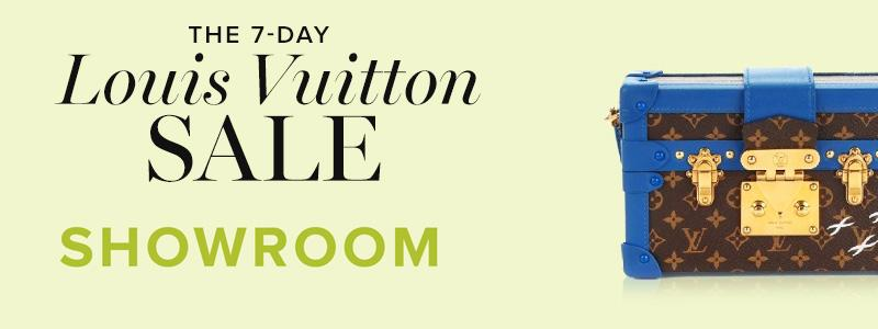 Louis Vuitton Sale Spotlight: Showroom