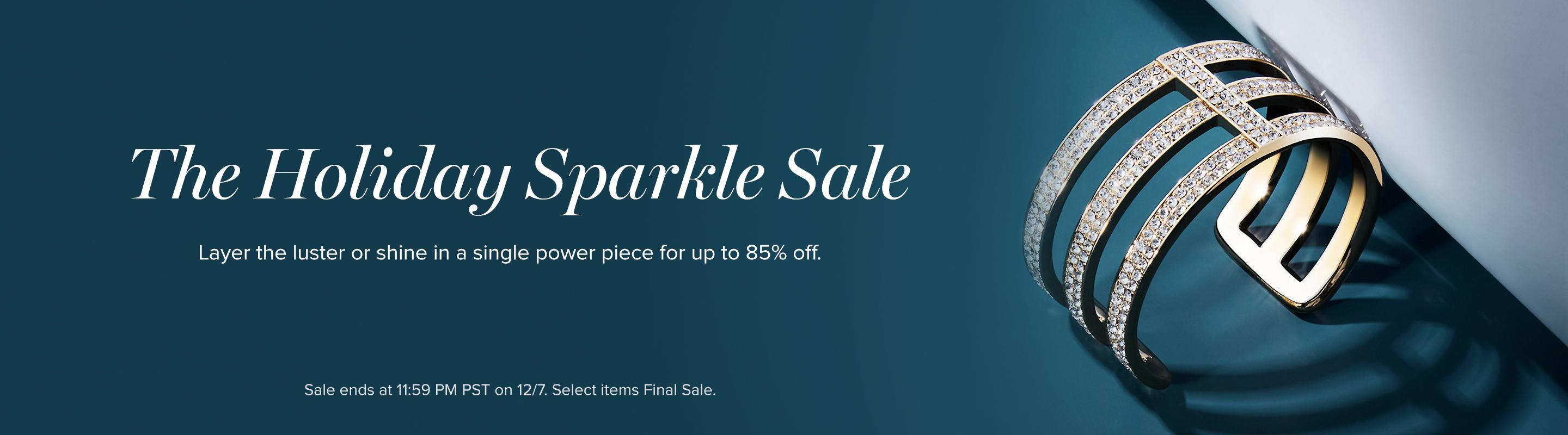 The Holiday Sparkle Sale