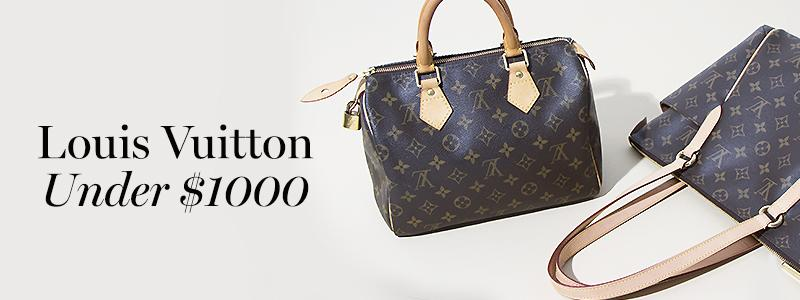 online here best choice 100% top quality Louis Vuitton Under $1000