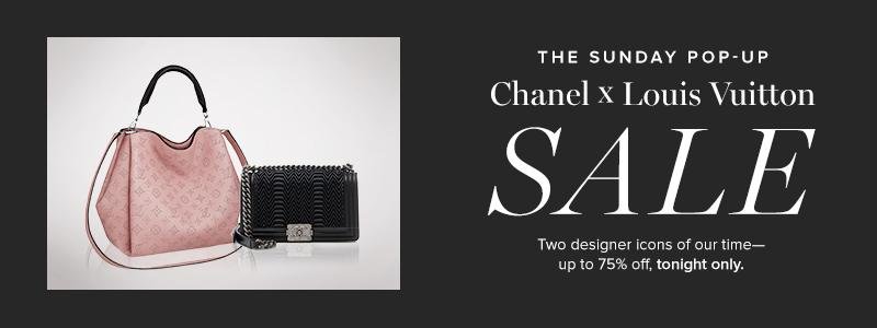 The Sunday Pop-Up: Chanel X Louis Vuitton