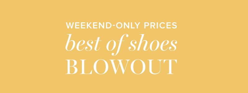 Best Of Shoes Blowout