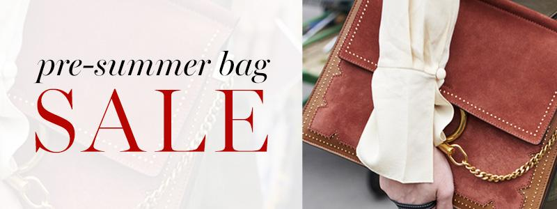The Pre-Summer Bag Sale