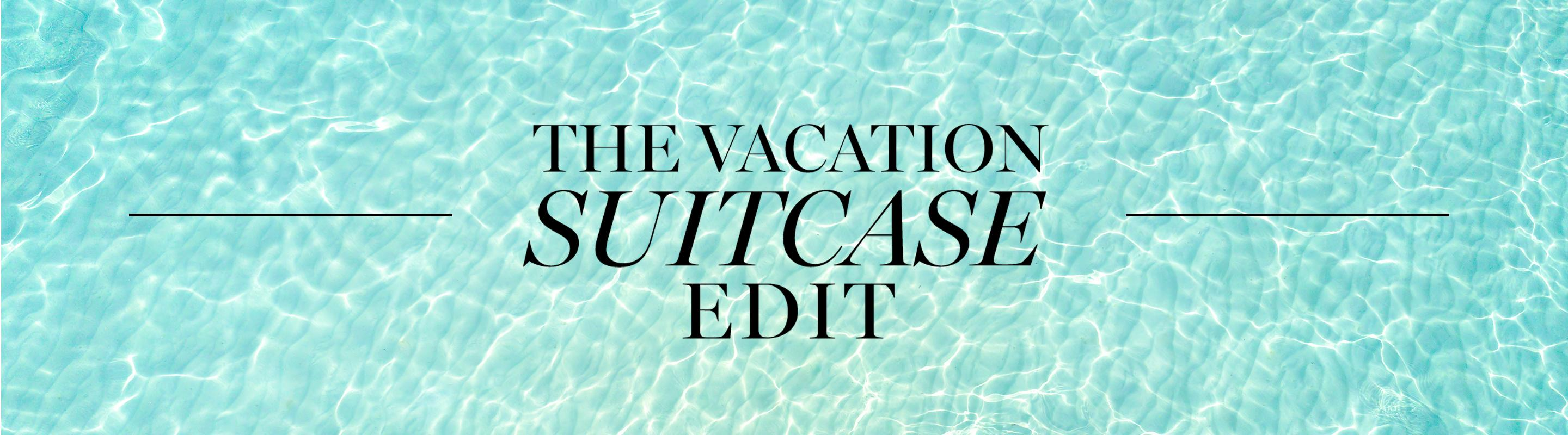 The Vacation Suitcase Edit: Totes + Travel Bags