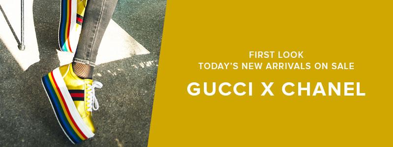 Today's New Arrivals On Sale: Chanel X Gucci