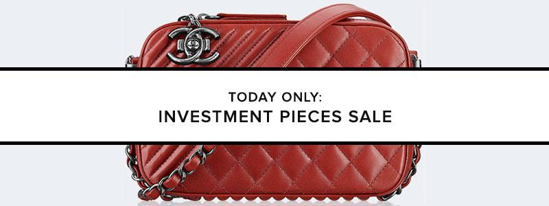 Today Only: Investment Pieces Sale