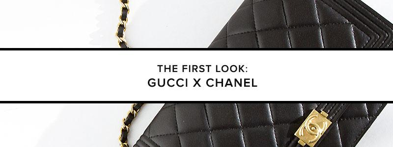 The First Look: Gucci X Chanel