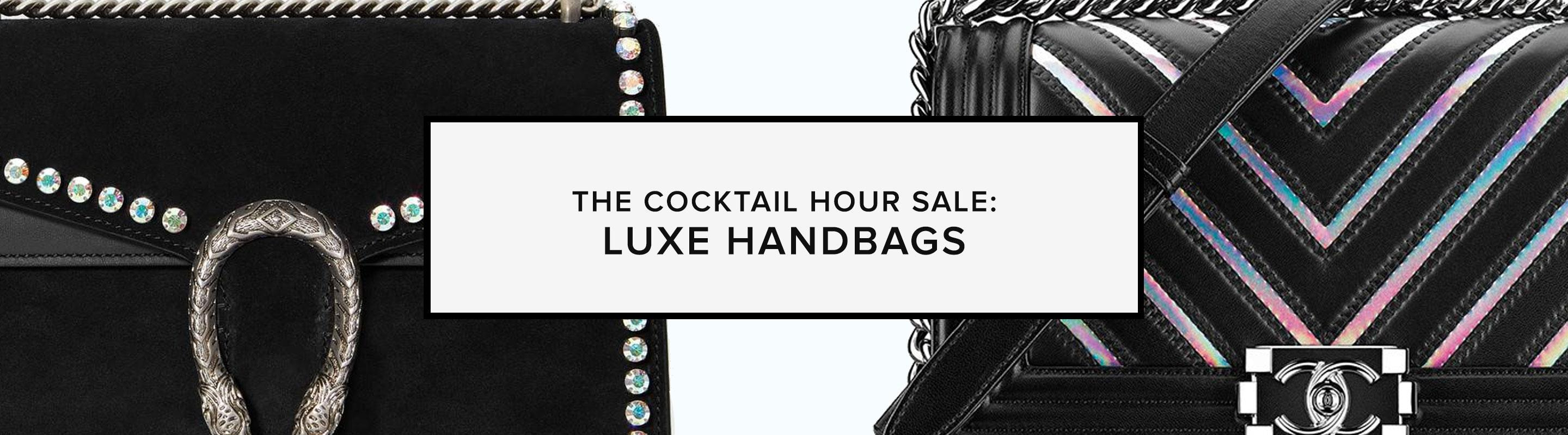 The Cocktail Hour Sale: Luxe Handbags