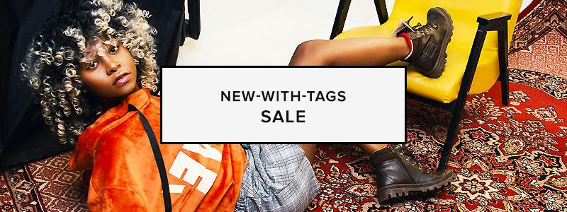 New-With-Tags Sale