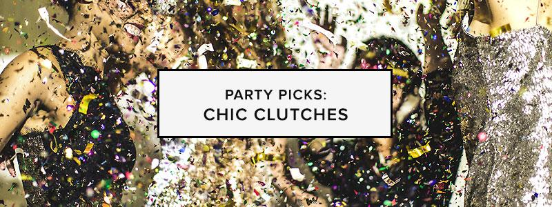 Party Picks: Chic Clutches