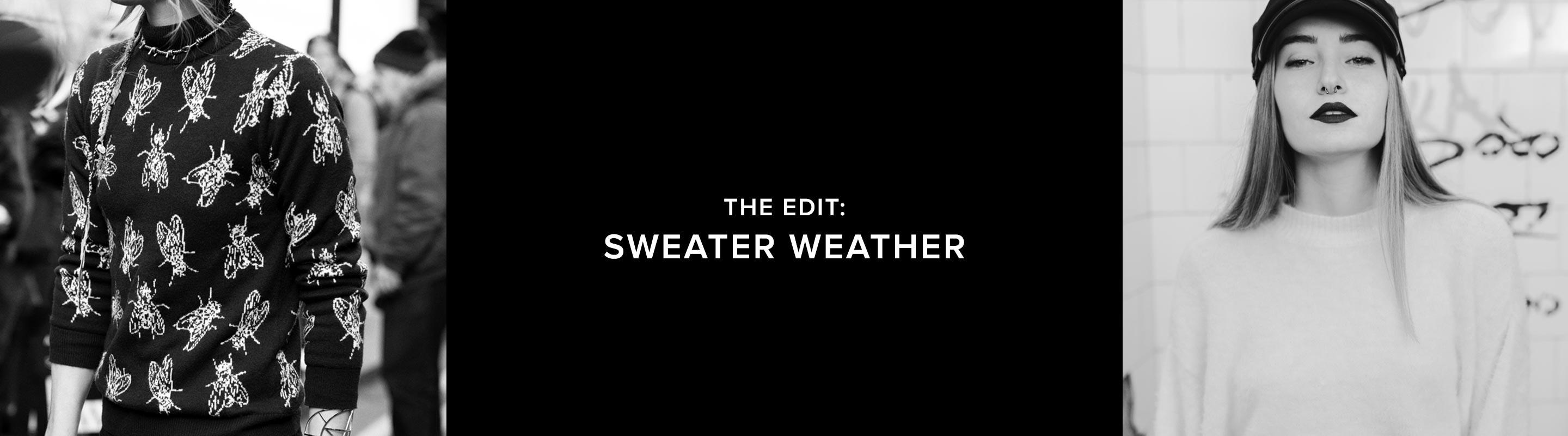 The Sweater Weather Edit