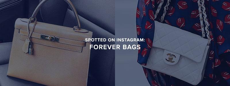 Spotted On Instagram: Forever Bags