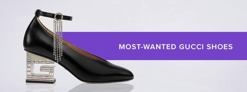 Most-Wanted Gucci Shoes