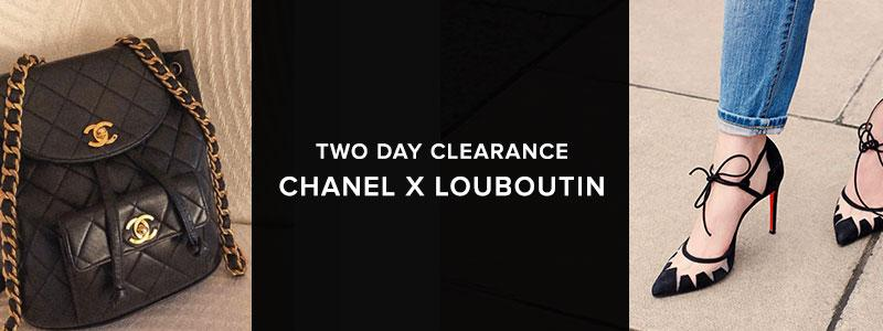 Two Day Clearance: Chanel X Louboutin