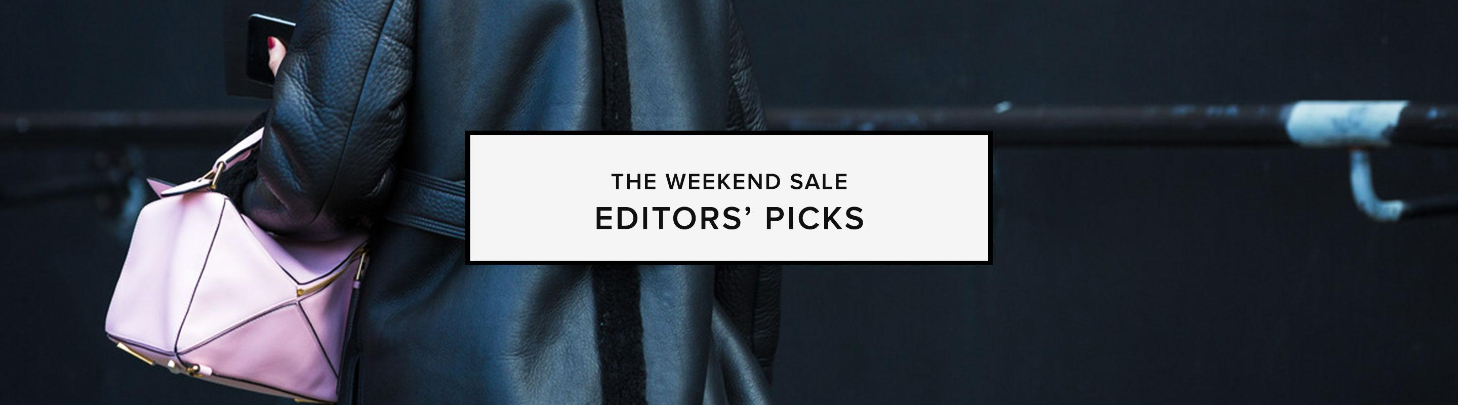 The Weekend Sale: New-With-Tags: Editors' Picks