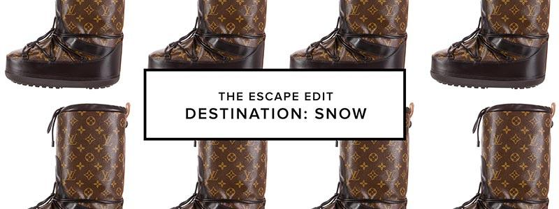 The Escape Edit: Snow