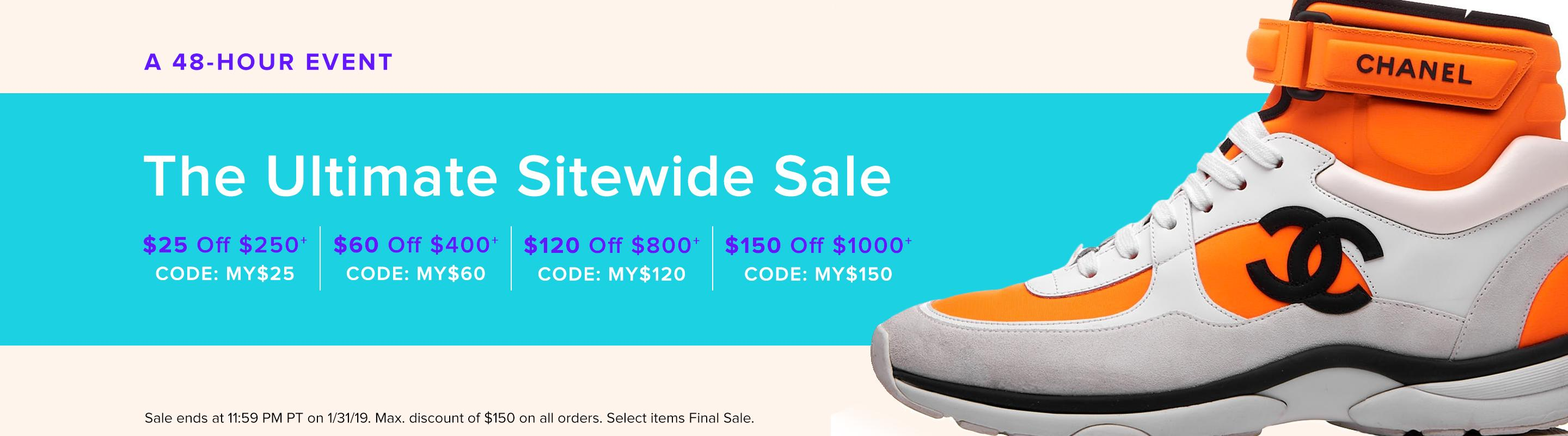The Ultimate Sitewide Sale