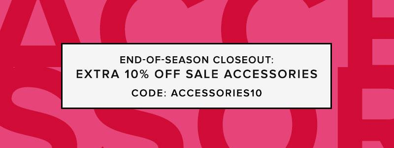 End-of-Season Closeout: Accessories