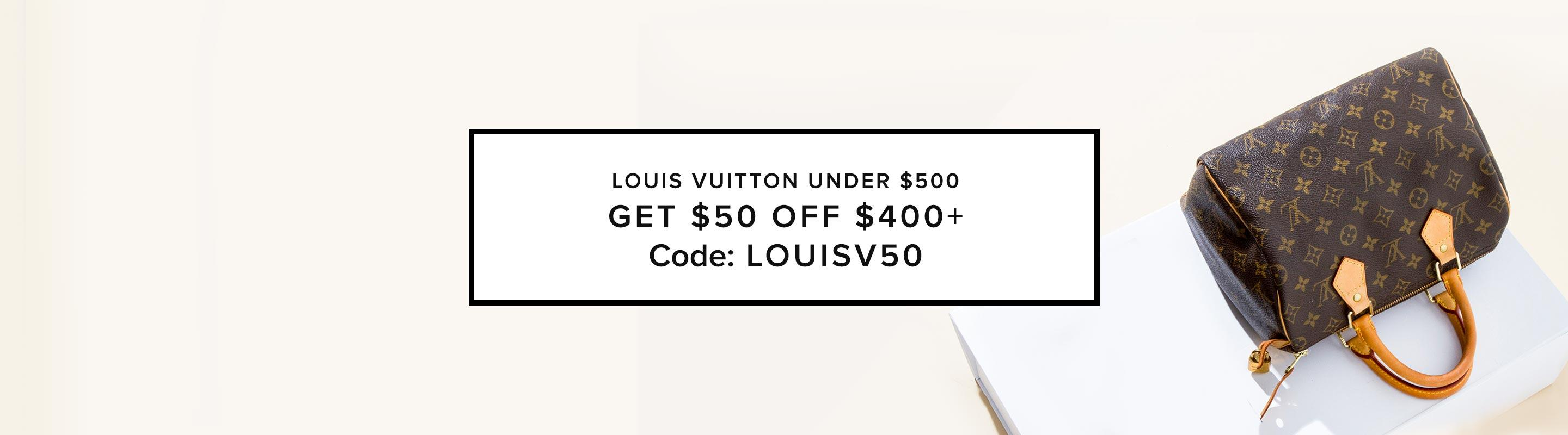 Louis Vuitton Under $500