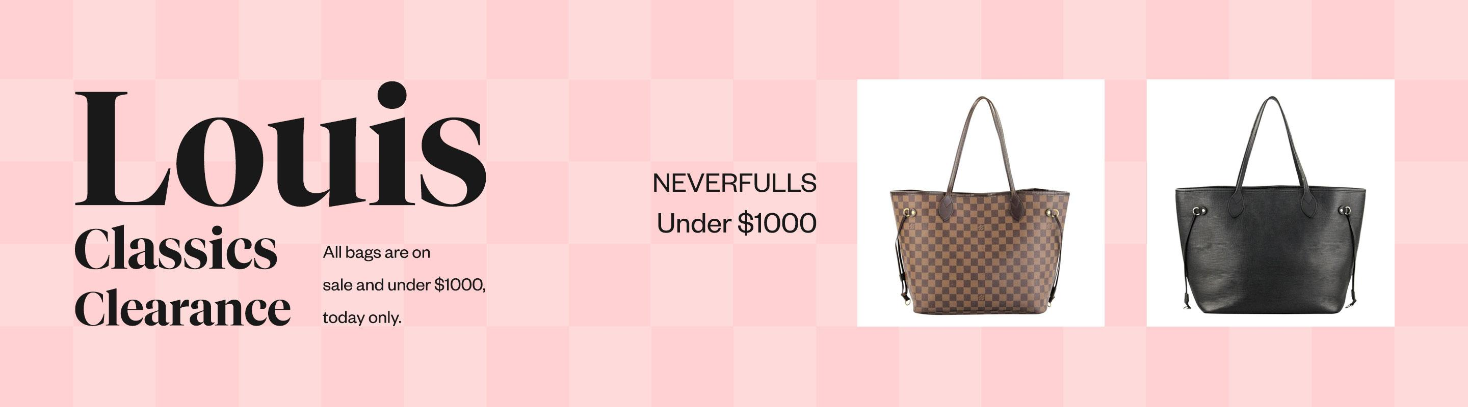Louis Classics Clearance: Neverfull