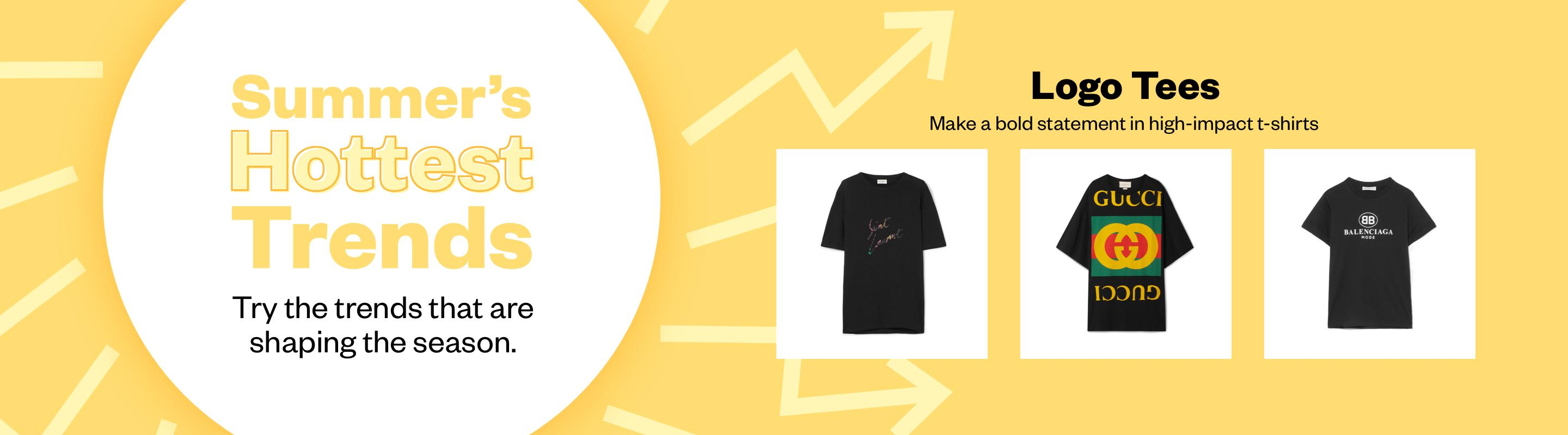 Summer's Hottest Trends: Logo Tees