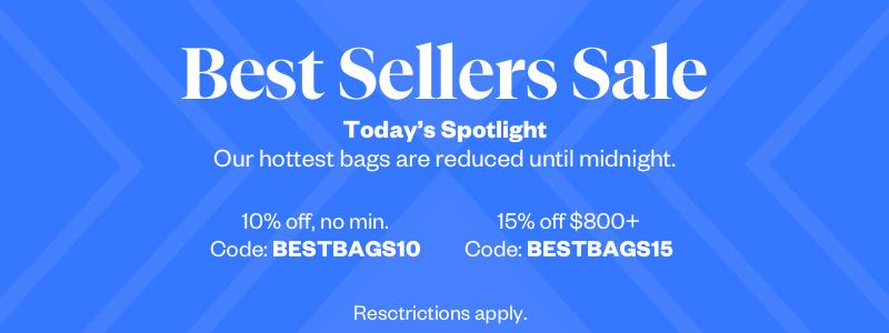 Best Sellers Sale: Bags