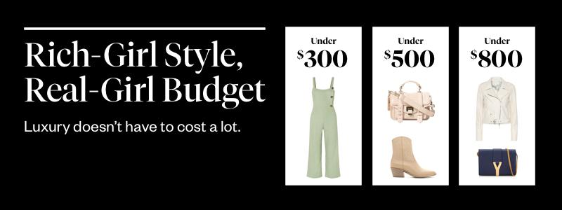 Rich-Girl Style, Real-Girl Budget