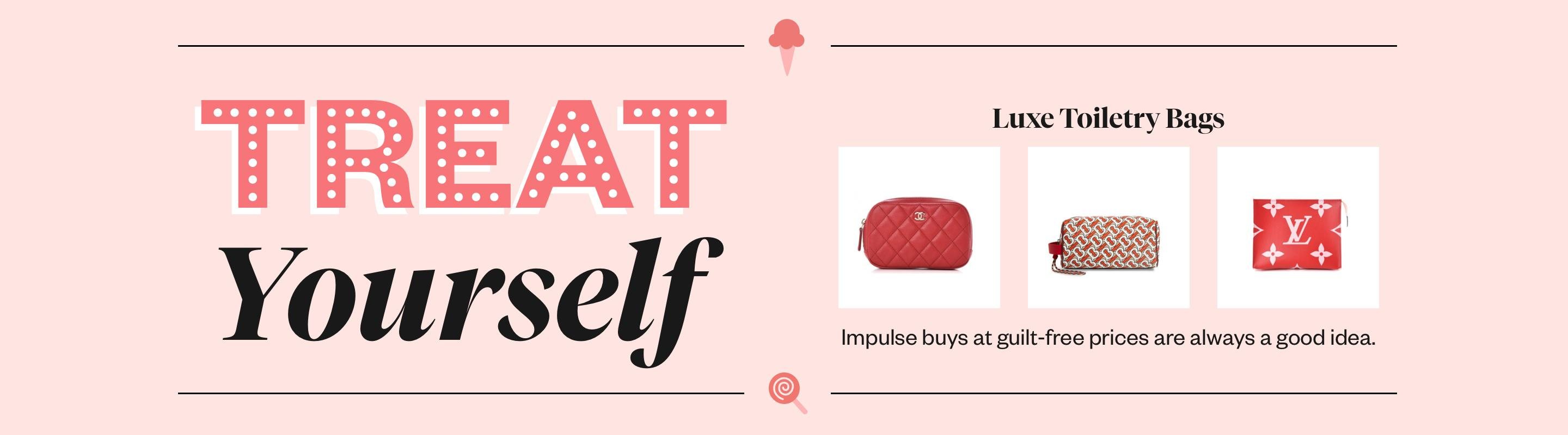 Treat Yourself: Luxe Toiletry Bags