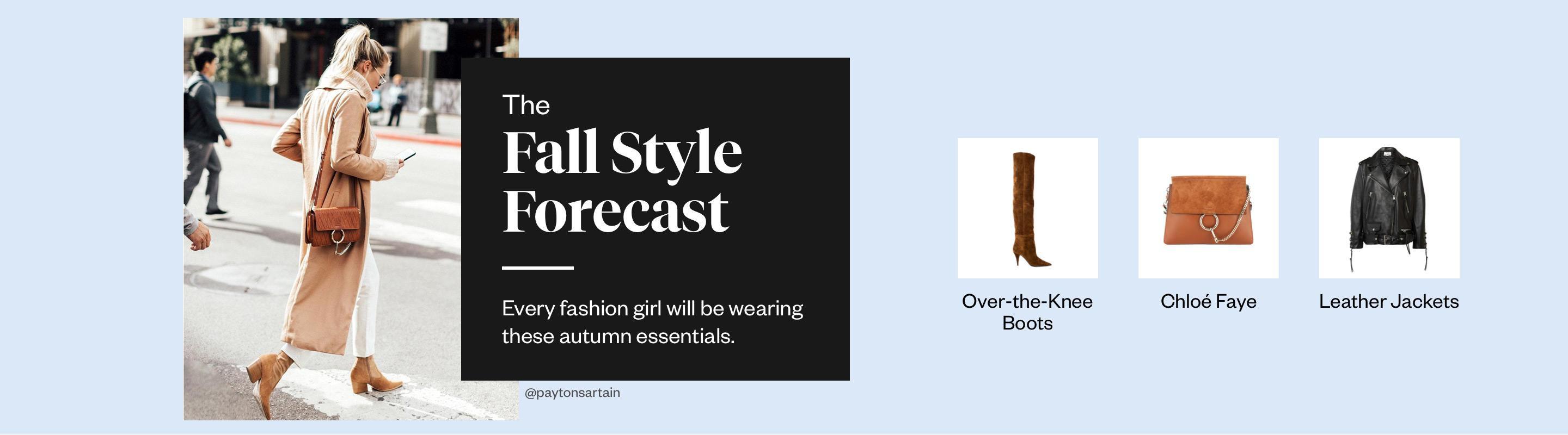 The Fall Style Forecast