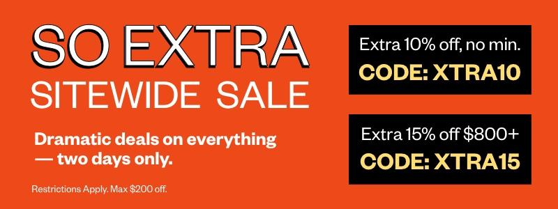 So Extra Sitewide Sale