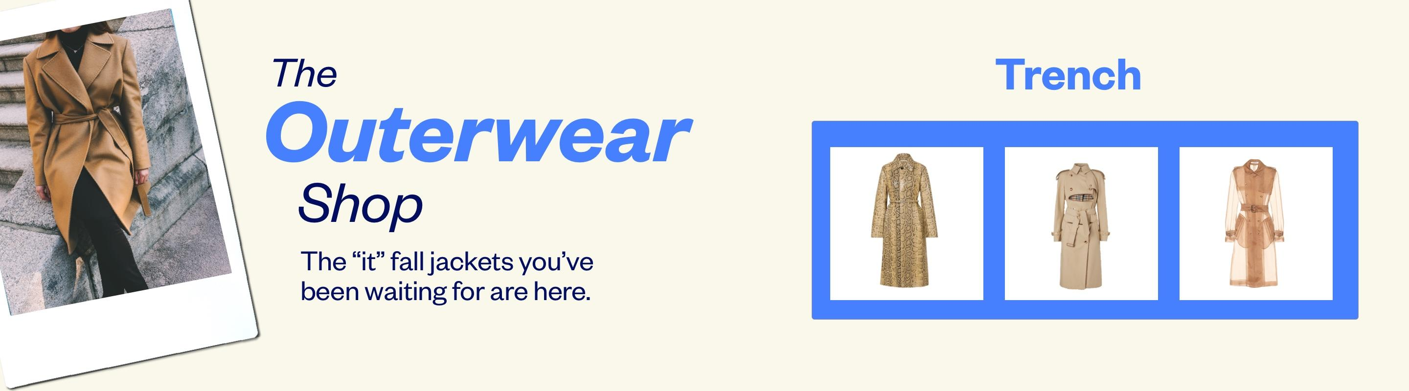 The Outerwear Shop: Trench Coat