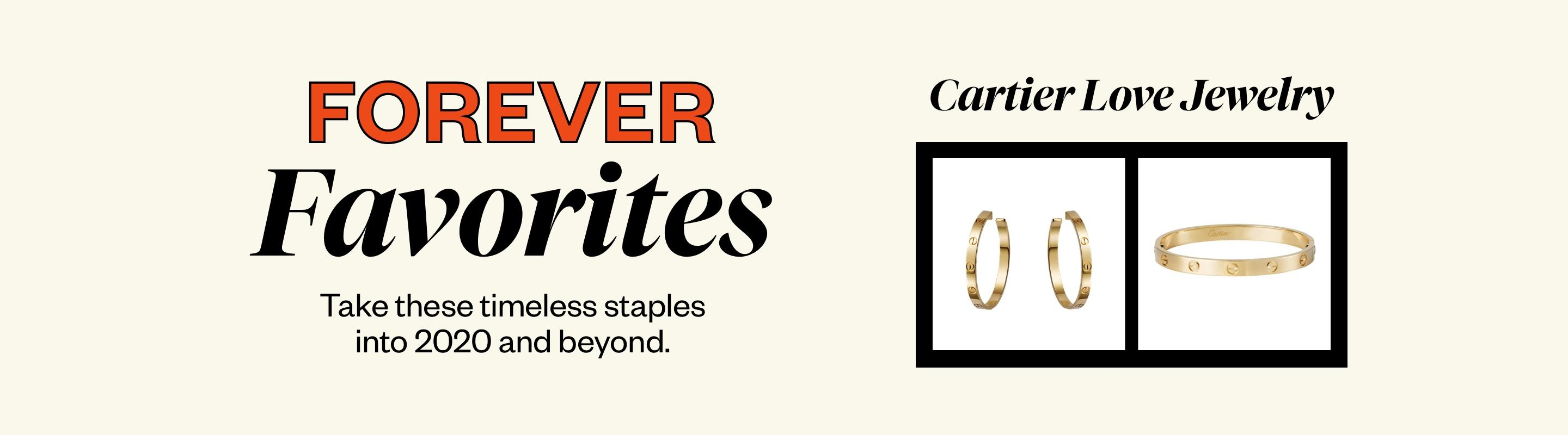 Forever Favorites: Cartier Love Jewelry