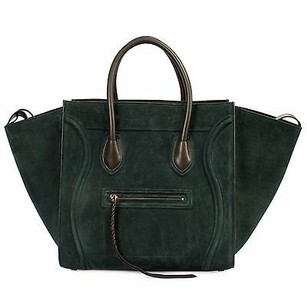 Cline Celine Luggage Phantom Tote in Green