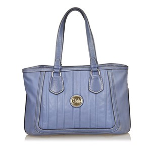 Céline Blue Leather Others Tote
