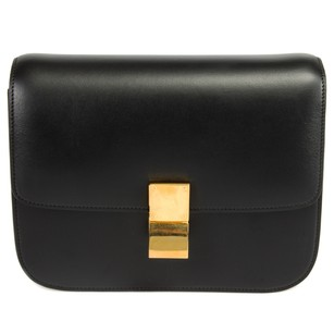 Cline Box Classic Calfskin Shoulder Bag