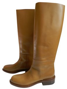 Cline Celine Boot Tall Low Heel New Camel Boots