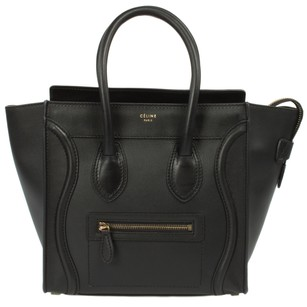 Cline Celine Micro Luggage Tote in Black