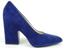 Céline Celine Paris Ocean Suede Blue Pumps