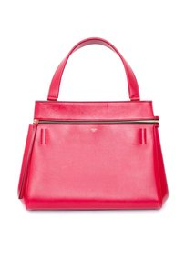 Céline Celine Edge Palmelato Satchel in Red