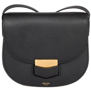 Céline Celine Trotteur Small Grained Cross Body Bag
