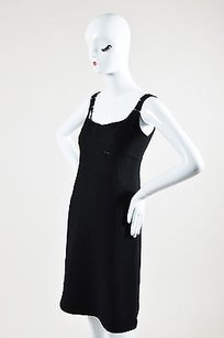 Chado Ralph Rucci short dress Black Wool on Tradesy