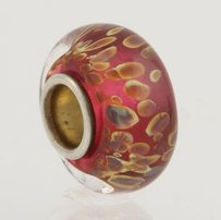Chamilia Chamilia Charm - Sterling Silver Fortuna 210-1105 Murano Glass Bead Retired