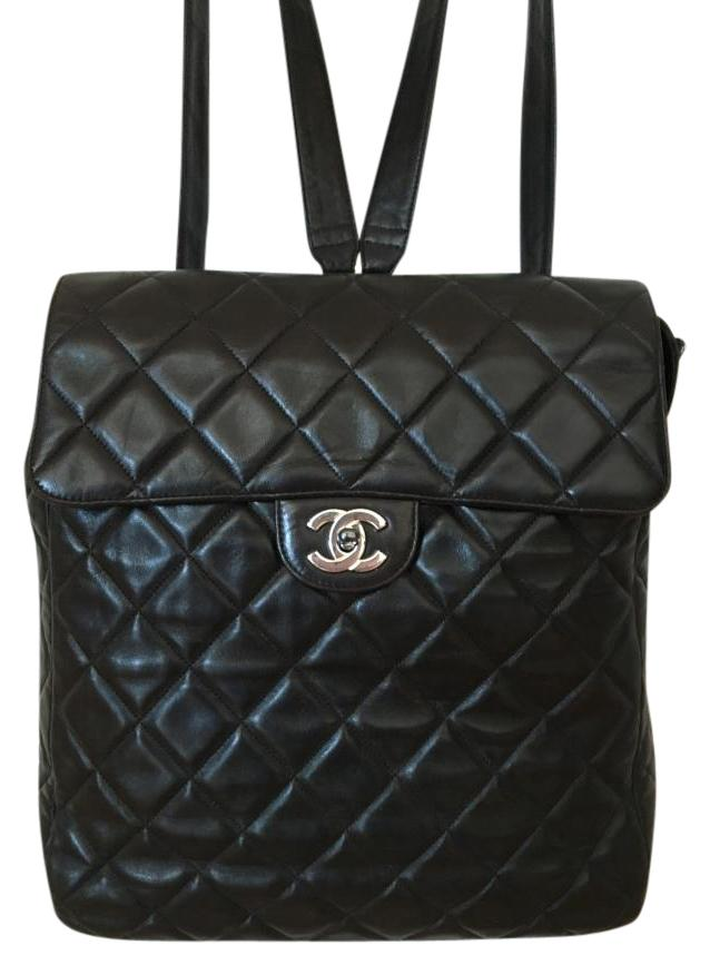 chanel quilted backpack. chanel vintage quilted backpack a