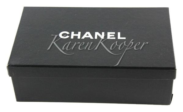 Chanel Authentic used Chanel Shoe Storage Box for espadrilles Free Shipping ...  sc 1 st  Tradesy & Chanel Black Used Shoe Storage Box For Espadrilles Free Shipping ...