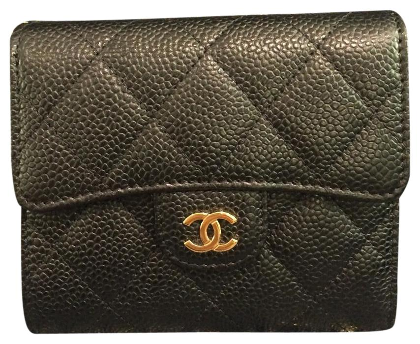 chanel 754. chanel bn classic flap/trifold wallet 754