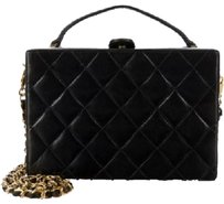Chanel Bos Vintage Black Clutch