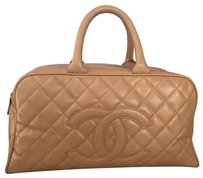 Chanel Satchel in beige tan