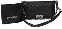 Chanel Boy Medium Lambskin Shoulder Bag