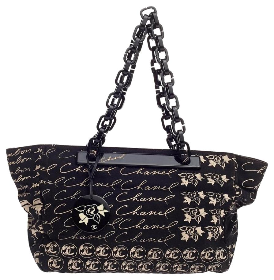 Chanel Canvas Tote Bags - Up to 70% off at Tradesy