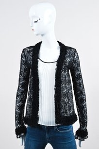 Chanel 04a Wool Lace Sweater