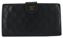 Chanel Caviar Quilted Wallet 210052
